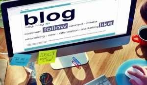 blog format